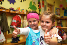 Zeit des Übergangs in den Kindergarten